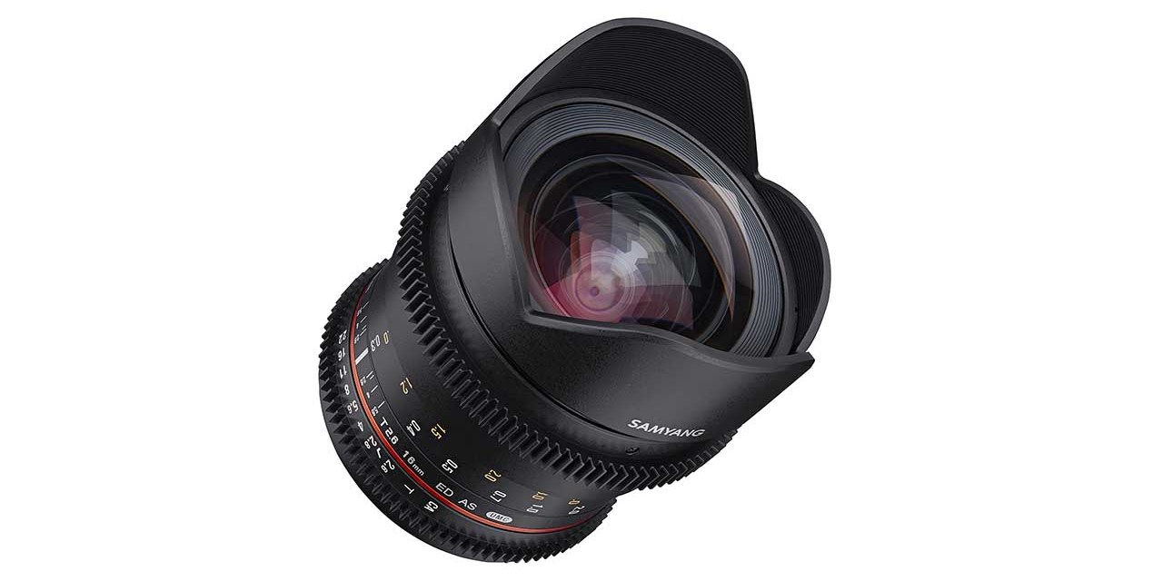 Samyang launches VDSLR 16mm T2.6 cine lens