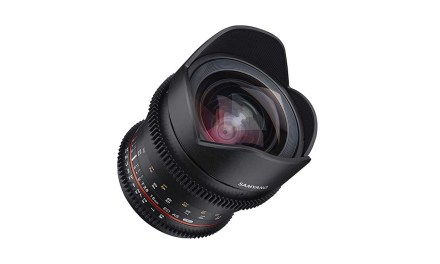 Samyang launches VDSLR 16mm T2.6 cine lens