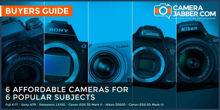 6 affordable cameras for 6 popular subjects