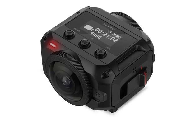 Garmin VIRB 360 boasts 5.7K video, 4 mics