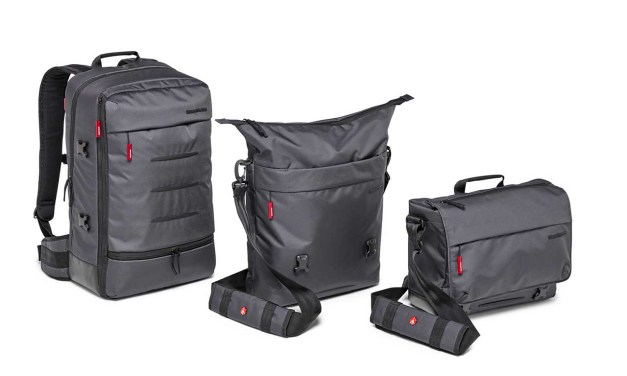 Manfrotto launches Manhattan camera bag collection
