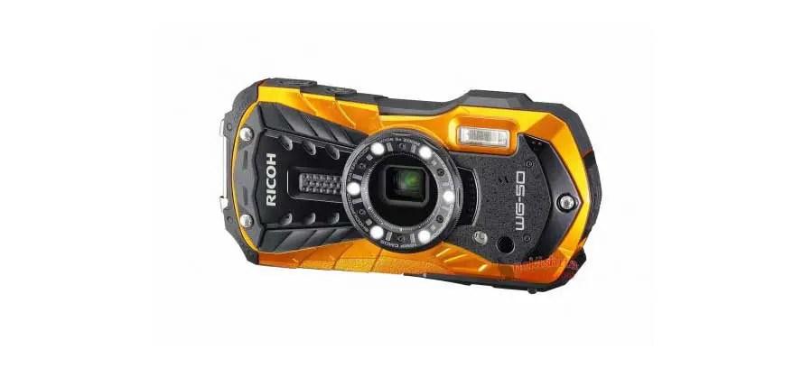 Images of Ricoh WG-50 waterproof camera leak online