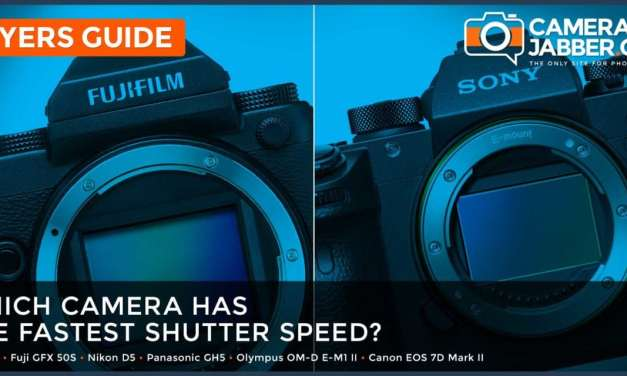 Which camera has the fastest shutter speed?