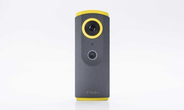 DETU Twin 360° camera now available for purchase