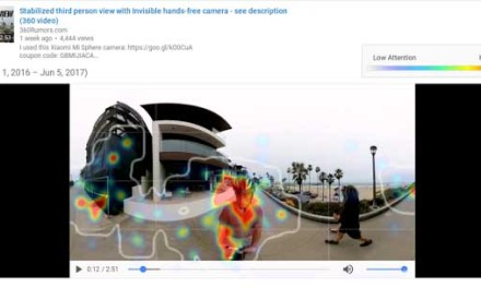 Youtube adds heatmaps to 360 videos