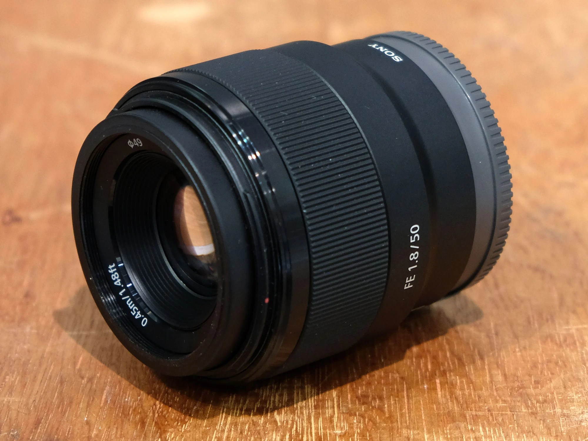 Sony FE 50mm f1.8 review so far -   Cameralabs