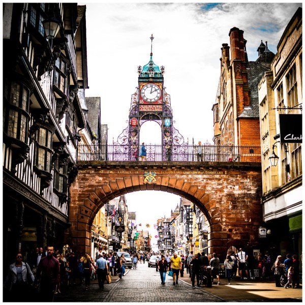 Chester Eastgate Clock Tower