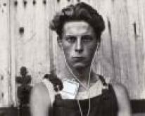 A Podcast Listener (courtesy of Paul Strand)