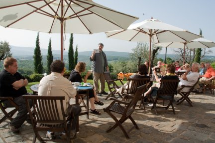 """Our """"classroom"""" in Tuscany"""