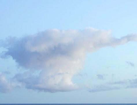 Cloud Over Lake Superior
