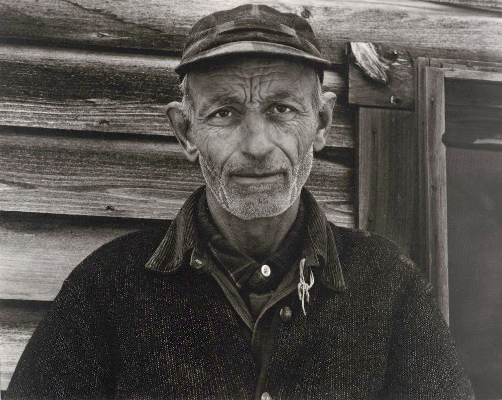 """Mr. Bennett, Vermont, 1944"" - Photograph by Paul Strand"