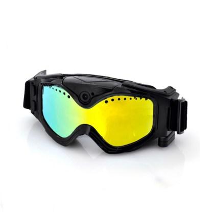masque de ski lunettes caméra