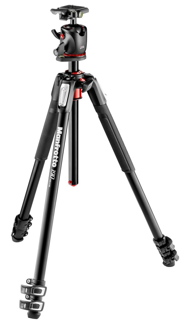 Manfrotto MK190XPRO3-BHQ2 Tripod with XPRO Ball Head