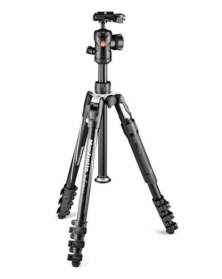 Manfrotto Befree 2N1 Tripod with monopod included (Lever