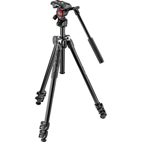 Manfrotto Light Tripod with Befree Live Fluid Video Head