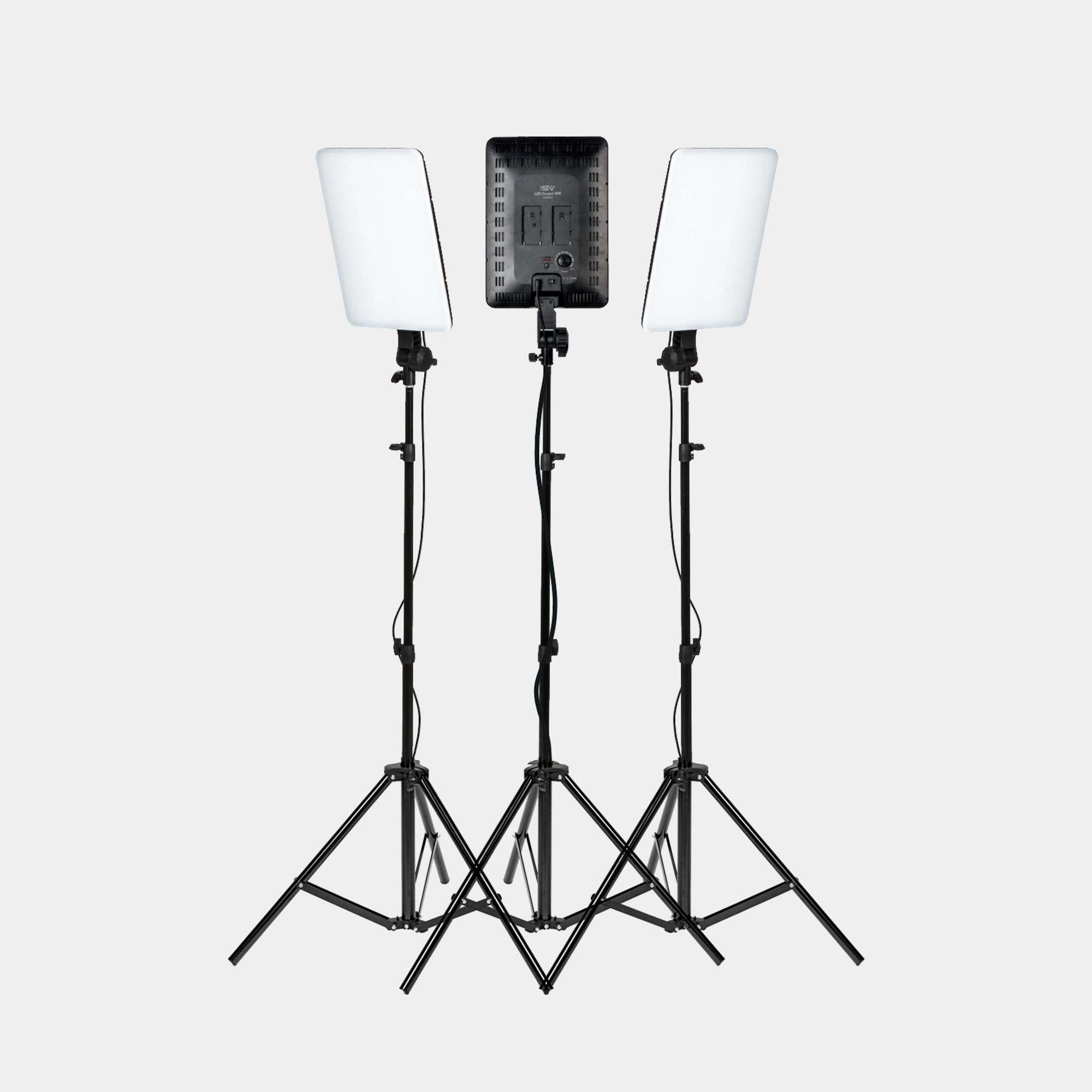 Smith Victor Slim Panel Led 3 Light Kit