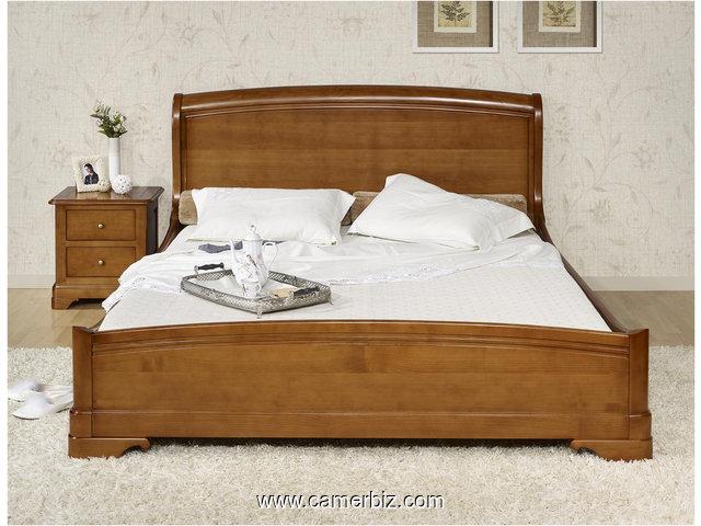 lit 2 places en bois massif offre exceptionnelle ameublement yaounde cameroun camerbiz com