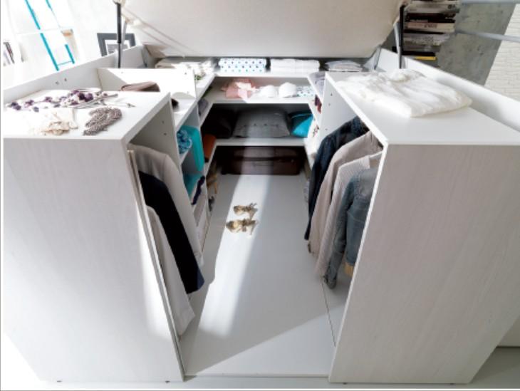 Container Modus Letto Matrimoniale A Soppalco