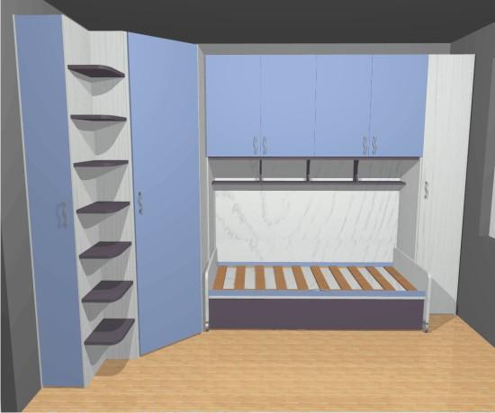 Non preoccuparti se la stanza è piccola, esistono soluzioni d'arredo. La Piccola Cameretta Singola Un Progetto