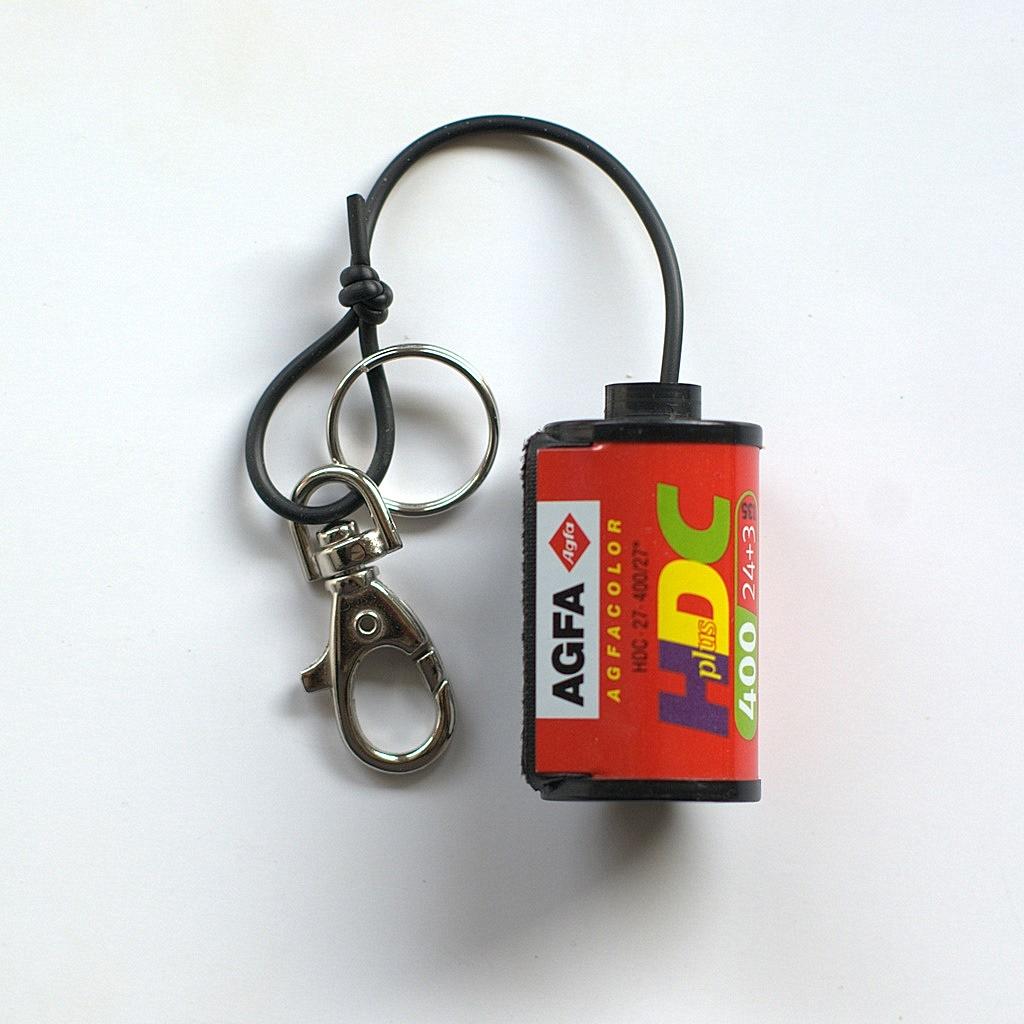 Film Spool Keychain –  Agfa HDC 400