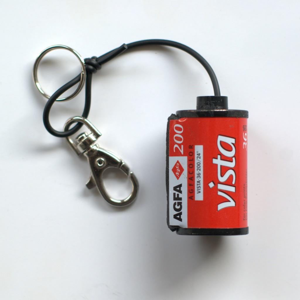 Film Spool Keychain – Agfa Vista 200