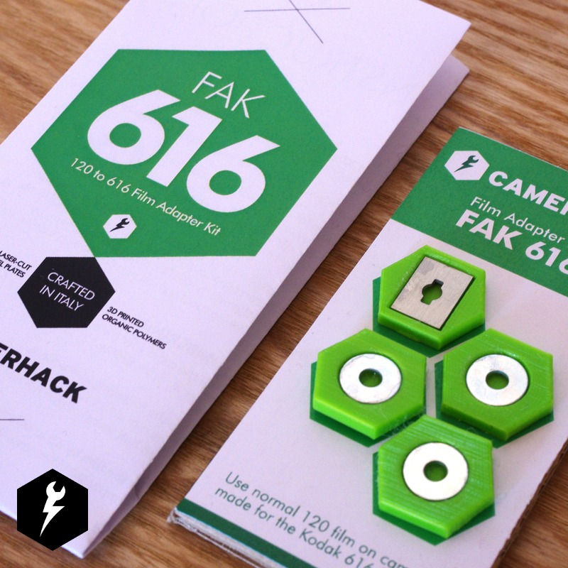 FAK 616 – 120 to 616 Film Adapter Kit
