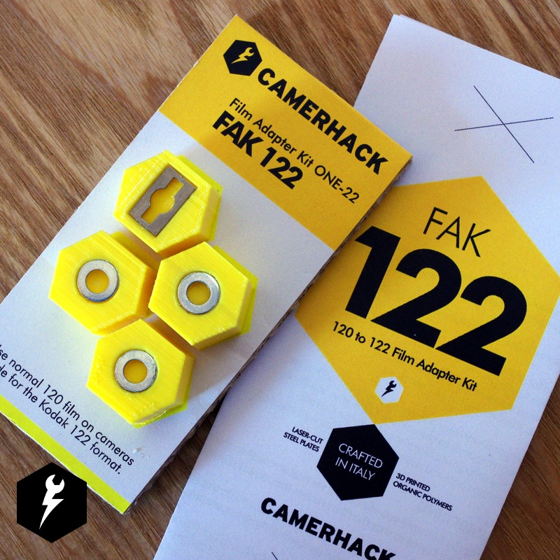 FAK 122 – 120 to 122 Film Adapter Kit