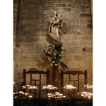Mary with Candles