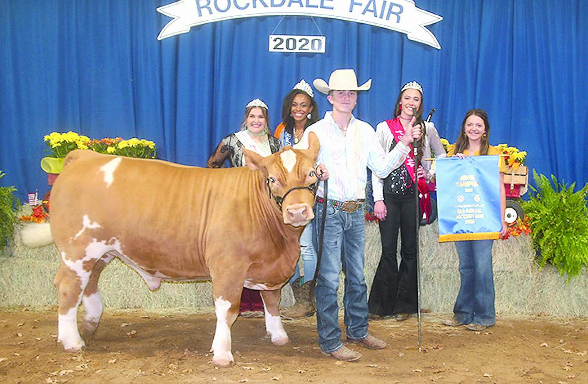 Cameron Youth Do Well At Rockdale Fair