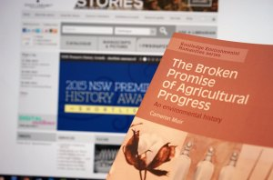 Broken Promise of Agricultural Progress shortlisted