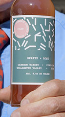 Spritz Rosé label