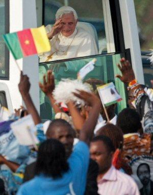 Pape Benoit XIV en Afrique