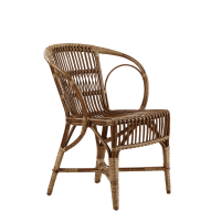 Wengler Wicker Chairs - available at Camilla Bellord Interiors