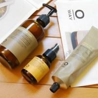 Oway - Moisturizing hair bath + mask & glossy nectar • Haircare review