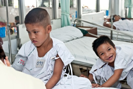 Waiting for surgery Operation Smile