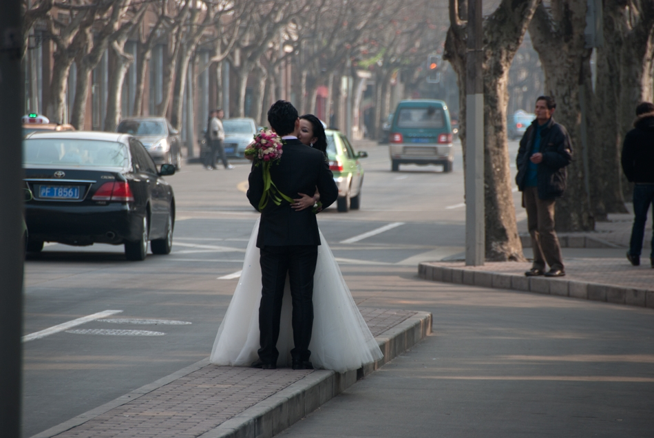 Shanghai wedding at the New Year Celebrations