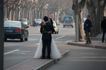 Shanghai wedding at the New Year Celebrations