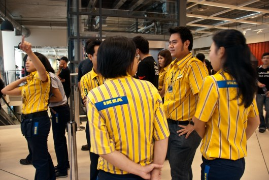 IKEA Opening in Bangna, Bangkok, Thailand. First store in Thailand.