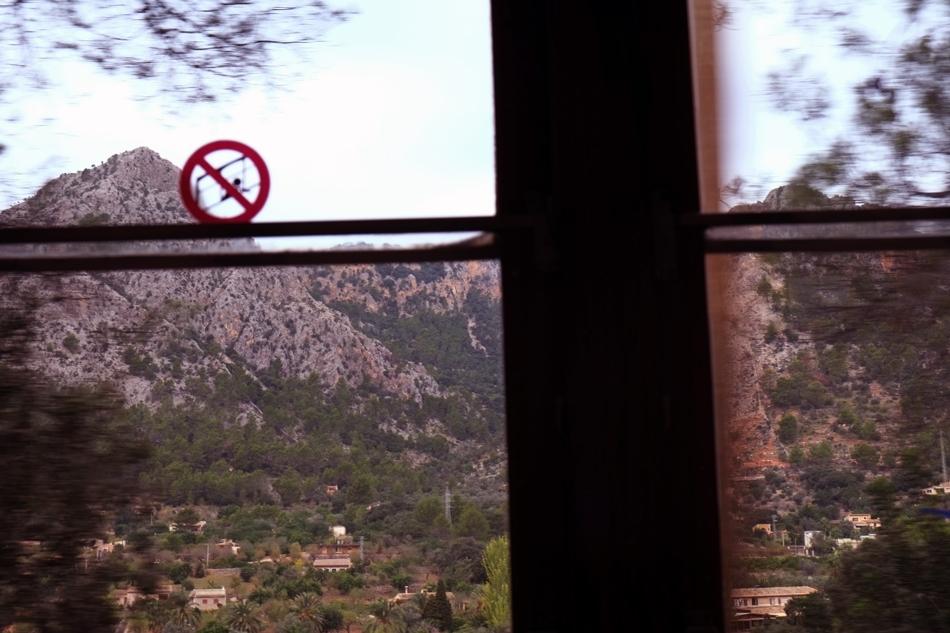 Ferrocarril de Sòller, between Sòller and Palma, Mallorca