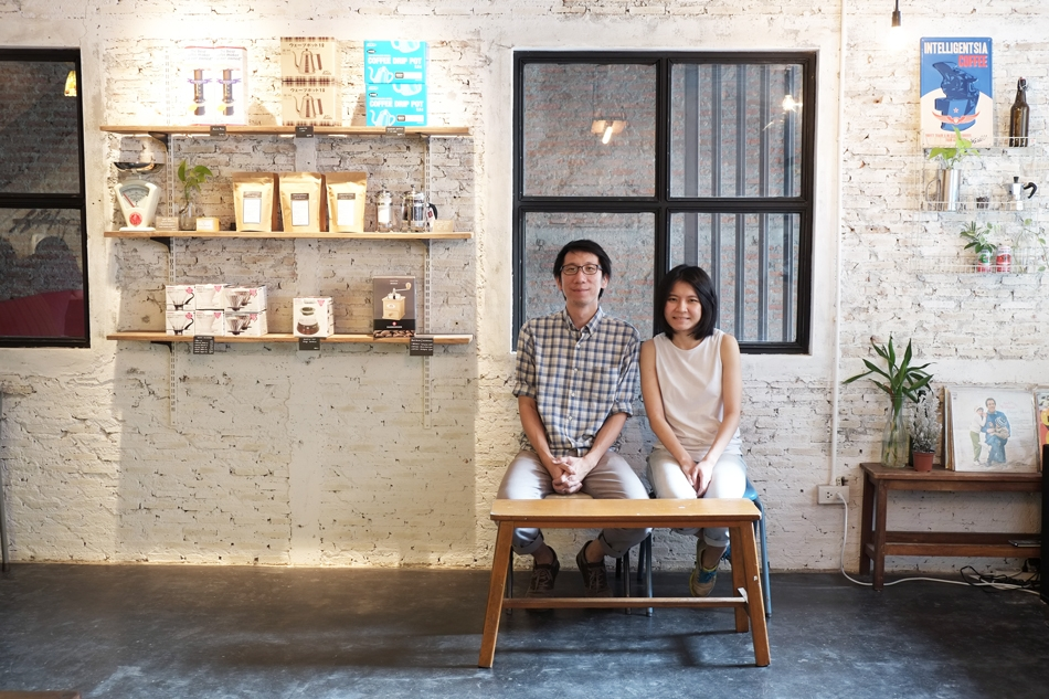 Ink & Lion Café: coffee culture in Bangkok