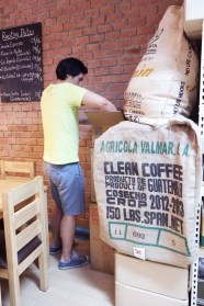 Bret at Ceresia Roasters