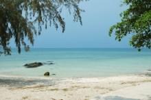 Koh Munnork, the beach