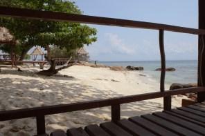Koh Munnork, at the beach