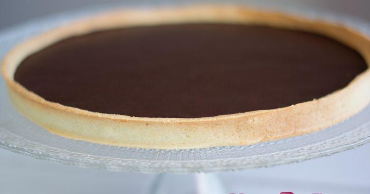 Tarte au chocolat facile !