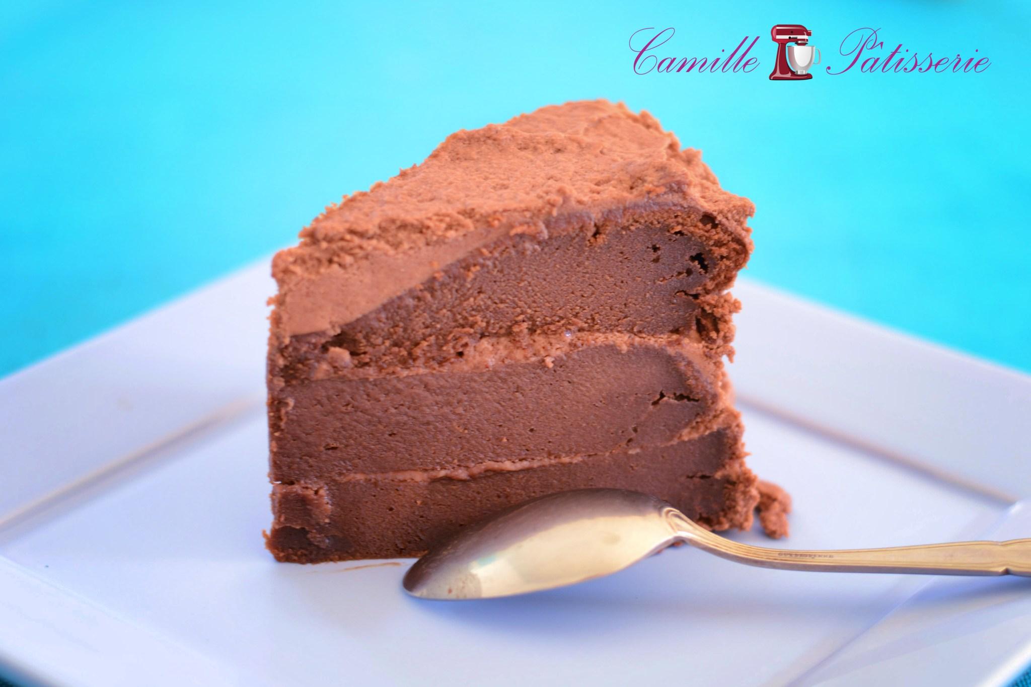 Layer cake chocolat façon Cyril Lignac