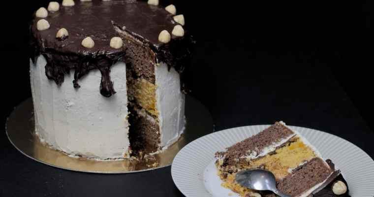 Layer cake chocolat potimarron