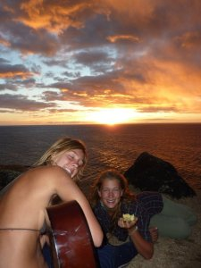Hippies at kalalau