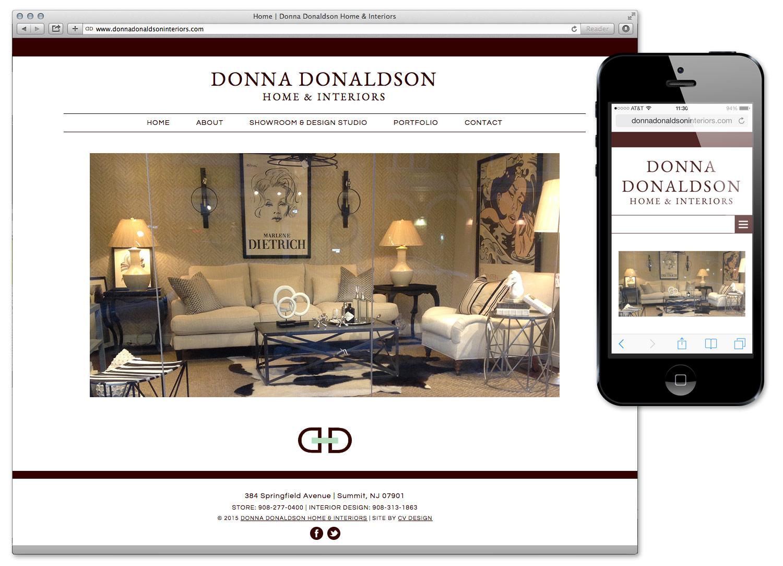 Donna Donaldson Home Website