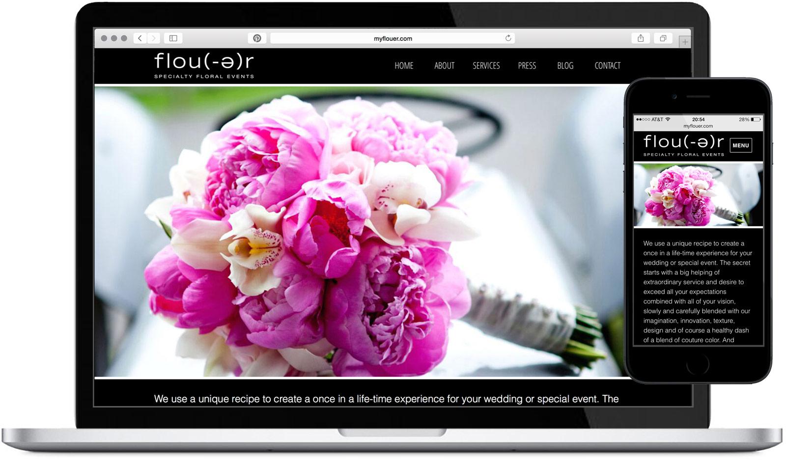 Flou(-e)r Website