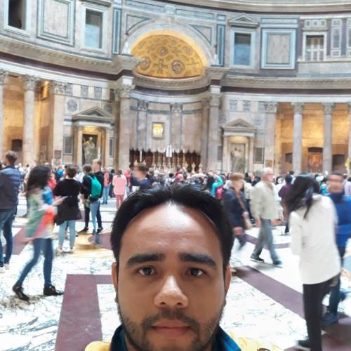 Camilo Cordova en Roma